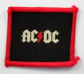 AC/DC - 'Logo' Small Woven Patch